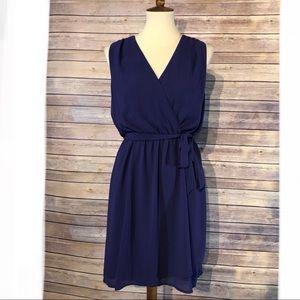 41Hawthorn Kassidy Sleeveless Faux Wrap Dress